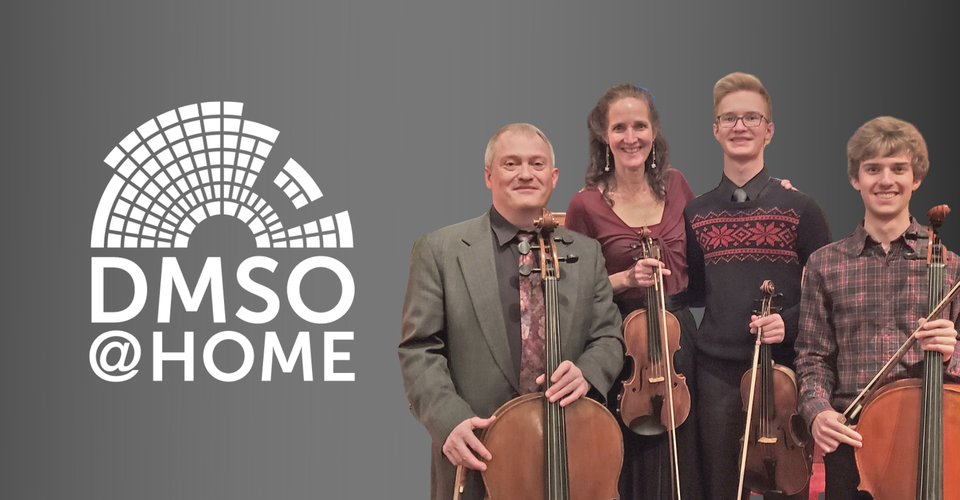 DMSO at Home Live: Henson Family String Quartet