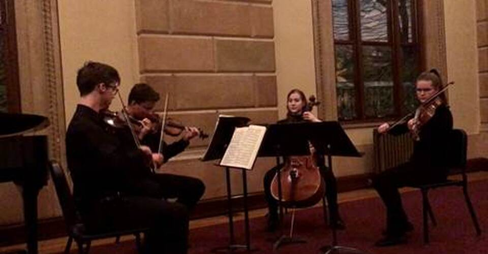DMSO at Home: Honors String Quartet