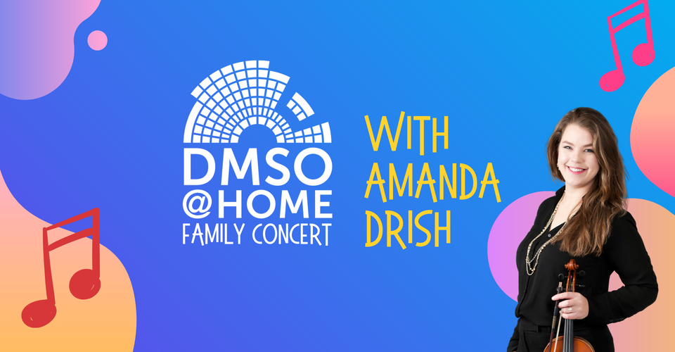 DMSO at Home Live: Family Concert with Amanda Drish