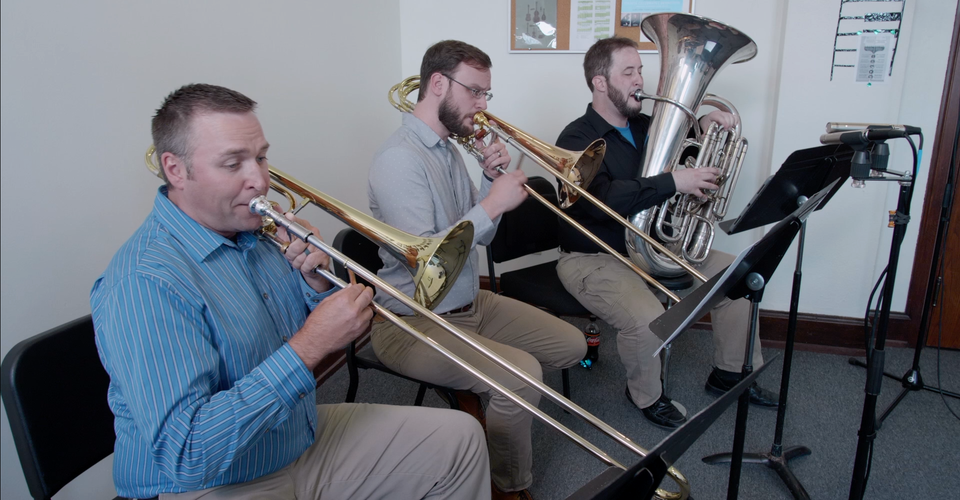 DMSO at Home: Low Brass Plays Piazzolla