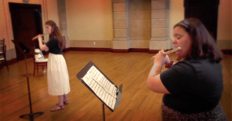 DMSO at Home: Youth Orchestra Flutes