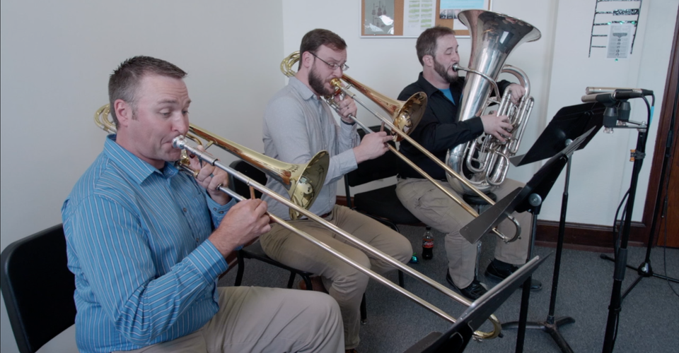 "DMSO at Home: Low Brass Trio plays ""Felicity"""