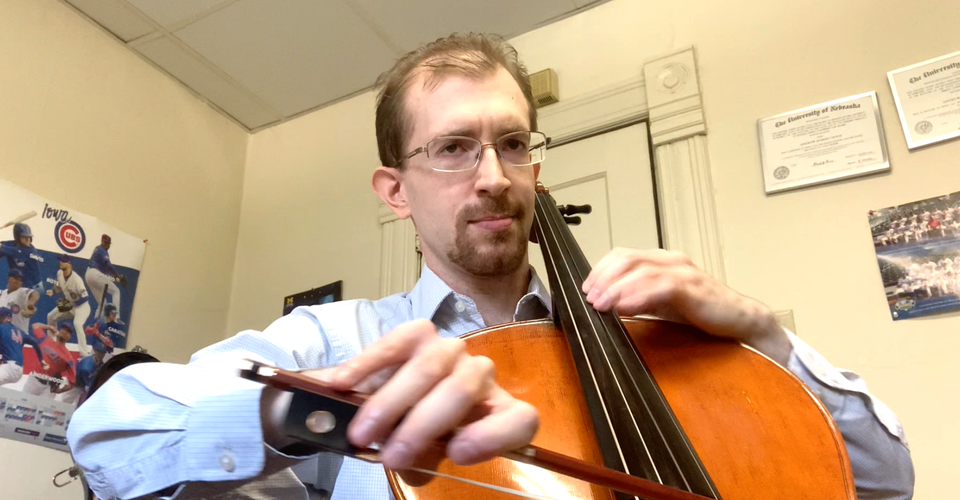 DMSO at Home: Andrew Holm plays the Allemande