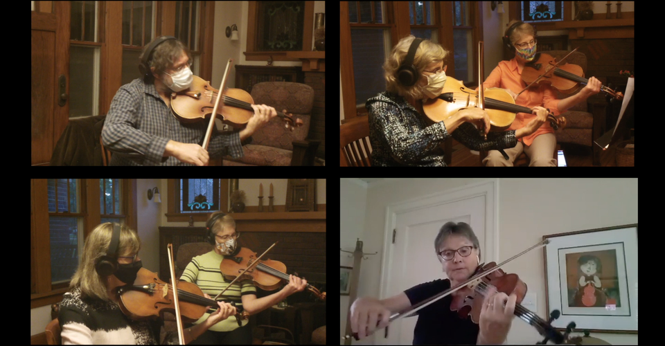 DMSO at Home: Keeping Faith featuring DMSO Violas