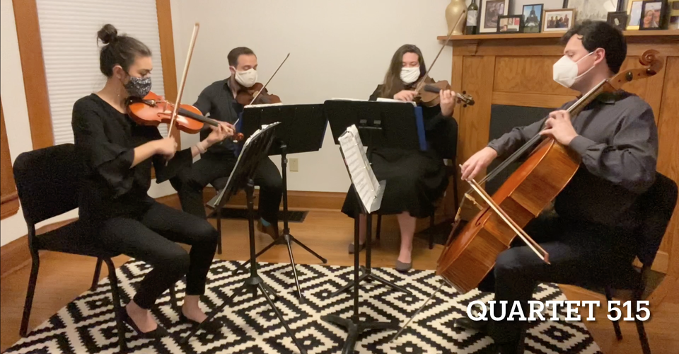 DMSO at Home: Quartet 515 plays Bell Carol
