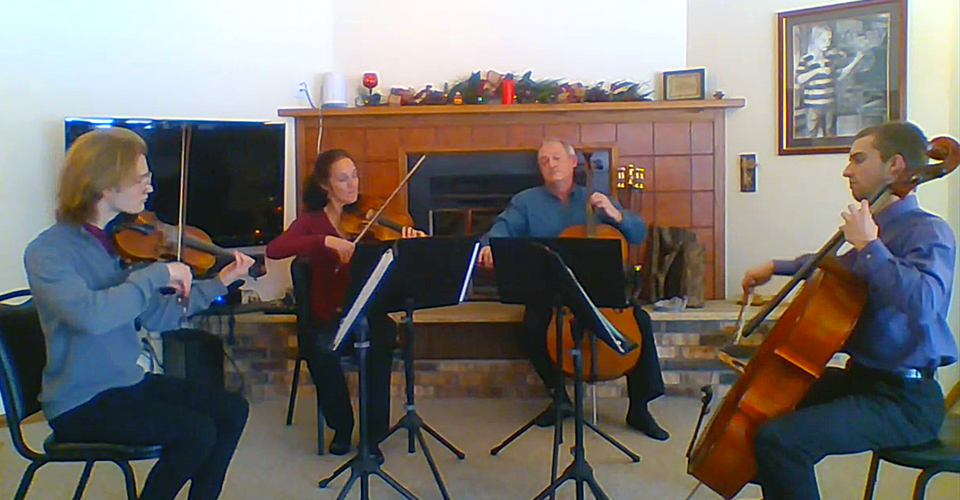 DMSO at Home: A Henson Family String Quartet Christmas