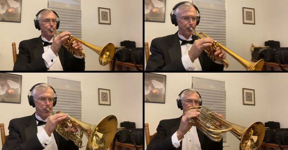 DMSO at Home: Andrew Classen Trumpet Concerto, Continued!