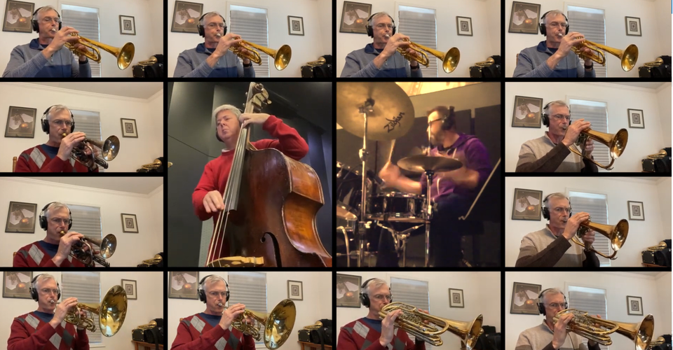 "DMSO at Home: Andrew Classen Trumpet Ensemble plays ""Come Rain or Come Shine"""